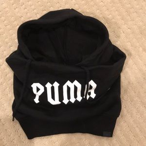 New. Puma hoodie hat